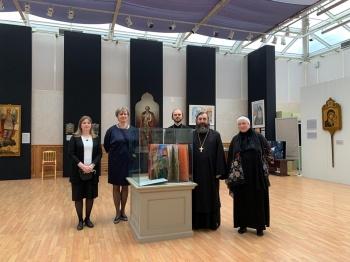 Иеромонах Трифон (Умалатов) встретился с организаторами проекта «Церковь на защите Отечества»