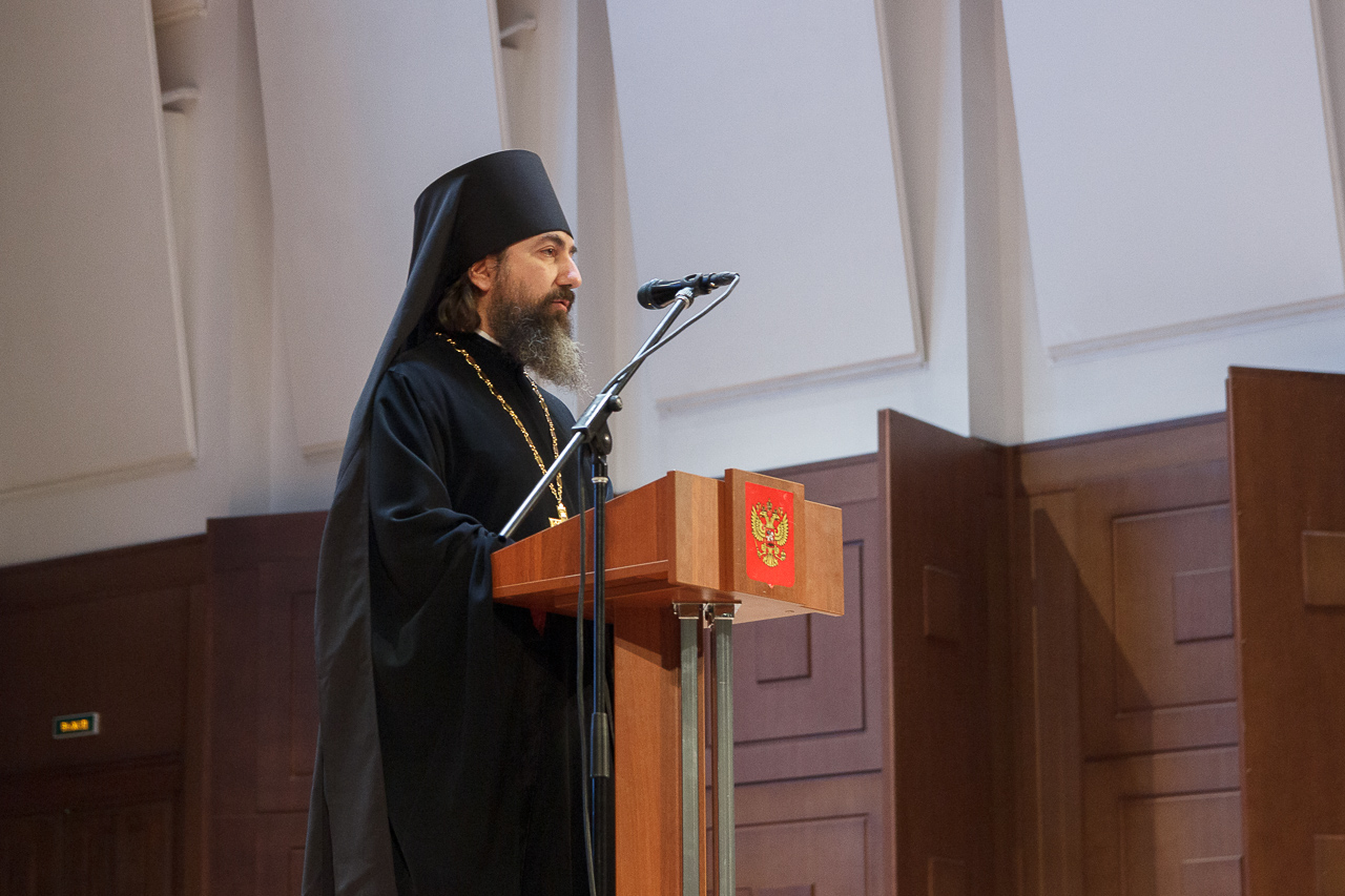 Иеромонах Трифон (Умалатов) принял участие в Новосибирских чтениях