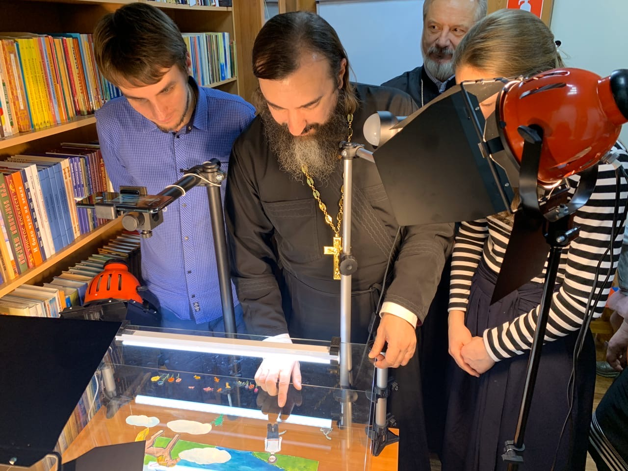 Иеромонах Трифон (Умалатов) встретился с победителями конкурса «За нравственный подвиг учителя»