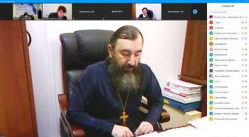 Иеромонах Трифон (Умалатов) принял участие в Рождественских чтениях Камчатскского края