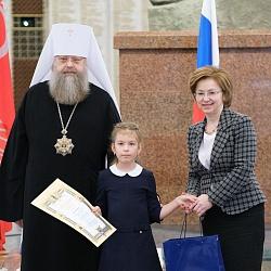 Председатель Синодального ОРОиК наградил призеров конкурсов «За нравственный подвиг учителя» и «Красота Божьего мира»