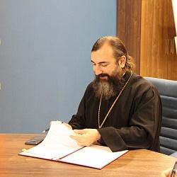 Иеромонах Трифон (Умалатов) провел встречу с первым заместителем председателя Комитета образования Санкт-Петербурга